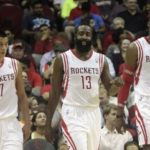 Harden is displayed with 41 points and Houston still King of 2014