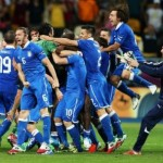 Italy won the match and England, self-confidence