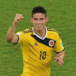 James Rodriguez makes history